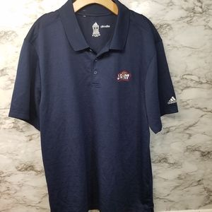 Adidas Basketball Bakersfield Jam Polo 2XL Blue